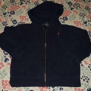 Boys Ralph Lauren zip up hoodie